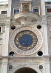 Torre dell'Orologio, particolare del Quadrante sud Venezia, Piazza San Marco