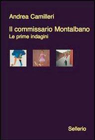 Copertina del libro di Andrea Camilleri Il commissario Montalbano