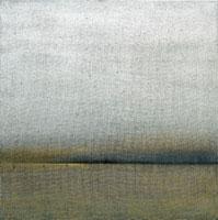 San Servolo, 2002, cm. 100 x 100, olio su juta / oil on burlap, Collezione privata / Private collection