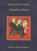 Copertina del libro di Maj Sjöwall e Per Wahlöö, Omicidio al Savoy