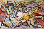 La corrida, 1934, Olio su tela, 27 x 40,9 cm, The University of Michigan Museum of Art, dono The Carey Walker Foundation, 1994/1.70, © Succession Picasso 2008