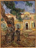 Vincent Van Gogh - Hopital  Saint Remy de Provence, 1889