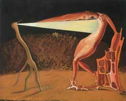 Victor Brauner - Le ver luisant, 1933