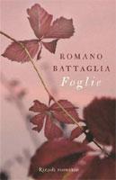Romano Battaglia, Foglie - Copertina del libro