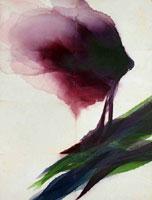 DAVIDE BENATI, Fine aprile, acquarello su carta intelata, cm147,5x195, 2008