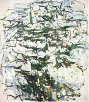 Joan Mitchell, Hemlock, 1956 Olio su tela, 231,1 x 203,2 cm New York, Whitney Museum of American Art