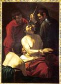 Caravaggio, Incoronazione di spine (1605), olio su tela, Prato (PO), Cariprato spa, ©1990. Foto scala, Firenze