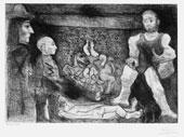 Picasso, la sua opera e il suo pubblico, 1968, Acquaforte