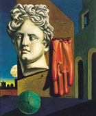 Giorgio de Chirico, Composizione metafisica, Firenze, Palazzo Pitti, Galleria d'Arte Moderna