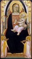 Bernardo Daddi, Madonna col Bambino - Polittico del Carmine