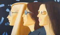 Alex Katz: Trio (Kristen, Sharon, Kym), 2008