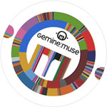 Logo della manifestazione Gemine Muse 2009