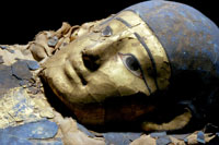 Maschera funeraria XXVI - XXX Dinastia, Castello del Buonconsiglio