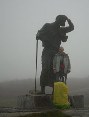 Monumento al pellegrino - Alto de San Roque