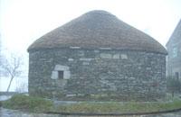 Una palloza galiziana