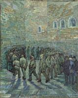 Vincent Van Gogh,  La ronde des prisonniers, 1890, © Museo Statale di Belle Arti Pushkin, Mosca