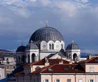 La chiesa serbo-ortodossa di San Spiridione a Trieste