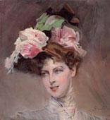 Giovanni Boldini: Beatrice Susanne Henriette van Bylandt, 1901 olio su tela, cm 52,5x55,5 Genova, Raccola Frugone