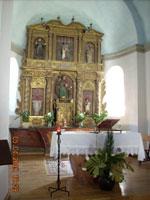 Triacastela - Interno della Chiesa