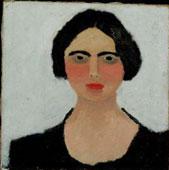 Angelina, 1915, olio su tela, cm 50x50, Roma, Archivio Nino e Pasquarosa Bertoletti. (5199)