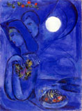 Marc Chagall Saint, Jean Cap-Ferrat, 1949, Gouache, Collezione privata © Marc Chagall by SIAE 2009