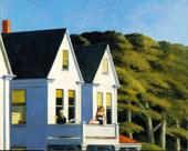 Second Story Sunlight (Secondo piano al sole), 1960, olio su tela, 101,92 x 127,48 cm, Whitney Museum of American Art, New York; acquisito grazie ai fondi dei Friends, of the Whitney Museum of American Art 60.54 © Whitney Museum of American Art, N.Y.