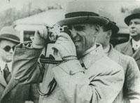 Tazio Nuvolari fotografo nel 1938