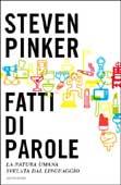 Steven Pinker, Fatti di parole - Copertina libro