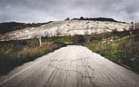 Dominique Laugè - Cretto, 50x80 cm pigmenti su carta a mano