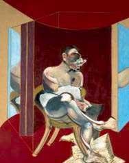 Francis Bacon, Study of George Dyer, 1969, Olio su tela, 198 x 147,5 cm, Collezione privata, Roma