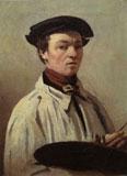 Jean Baptiste Camille Corot, Autoritratto, Firenze, Galleria degli Uffizi