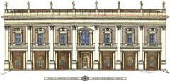Cesare Panepuccia - Palazzo dei Conservatori in Campidoglio