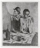 Pablo Picasso, Le Repas frugal