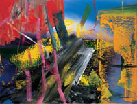 Gerhard Richter, Eule, 1982, Oil on canvas, 225 x 294 cm, Courtesy Collection Böckmann, Berlin at Hamburger Kunsthalle