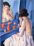 Cagnaccio di San Pietro: Allo Specchio – 1927 Olio su tavola 80 x 59,5 cm. Fondazione Cariverona