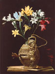 Autore ignoto: Fiasca fiorita