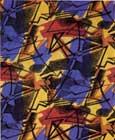 Enrico Prampolini Ampo, 1956 cotone stampato. Mostra Museo d'arte contemporanea di Lissone, 1947-1958