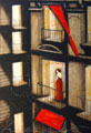 Fabio Calvetti Diario notturno, dipinto, su tavola, cm 90x60