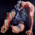 Fabiola Quezada (Vincitrice edizione 2004), Senza titolo I, 2003, Acrilico su tela, cm 150x150