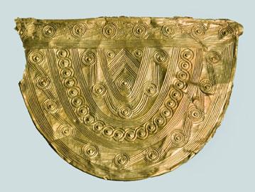 Placca d'oro, Mitré, oro, VI-V sec. a.C