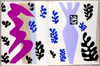 Henri Matisse, Il lanciatore di coltelli, tav. 15, Jazz, Paris, Tériade, 1947, tavola a pochoir realizzata con gouache di Linel, 42 x 65 cm, Le Cateau-Cambrésis, Musée départemental Matisse, © Succession H. Matisse by SIAE 2010,Photo Philip Bernard