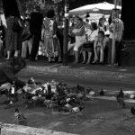 Chi non ha da mangiare cede il cibo - Foto di I. Donadio