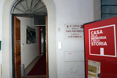 Ingresso della Casa della Memoria e della Storia di Roma