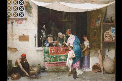 Vincenzo Capobianchi: Venditore di antichità collezione privata, courtesy Phidias Antiques and Interiors, Reggio Emilia