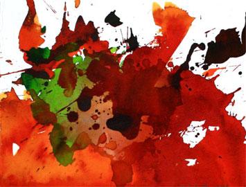 Karl Hartwig Kaltner, Senza titolo, Inchiostro su carta, 2009