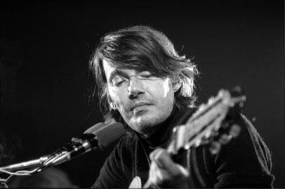 Fabrizio De André © 1975 Luca Greguoli Venin