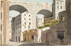 Luigi Garibbo, Ponte di Carignano in Genova