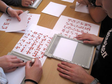 Laboratorio braille