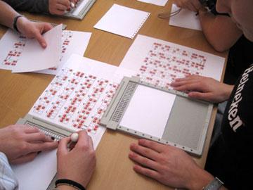 Laboratorio braille