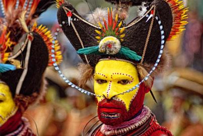 Iago Corazza, Greta Ropa Papua - Enga Festival, 2007